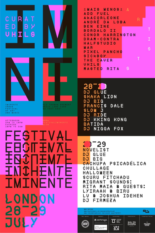 Festival Iminente Cartaz