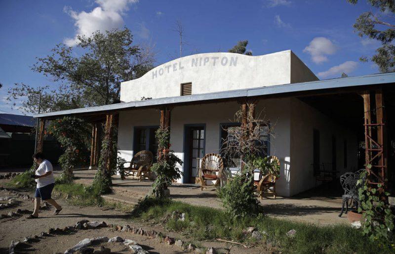 Hotel Nipton, fundado por Gerald Freeman. Créditos: John Locher/AP
