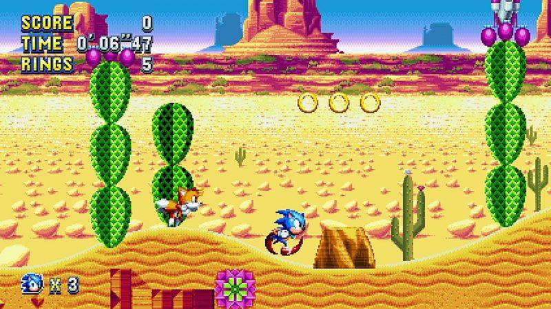 Mirage Saloon: Um dos níveis representativos da diversidade de cenário dos jogos de Sonic