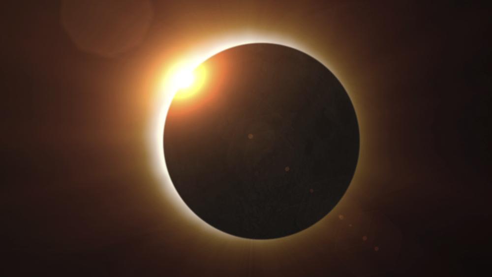 Resultado de imagem para eclipse solar e super lua