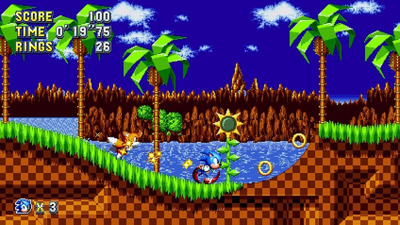 Sonic Mania - Green Hill Zone Act 1