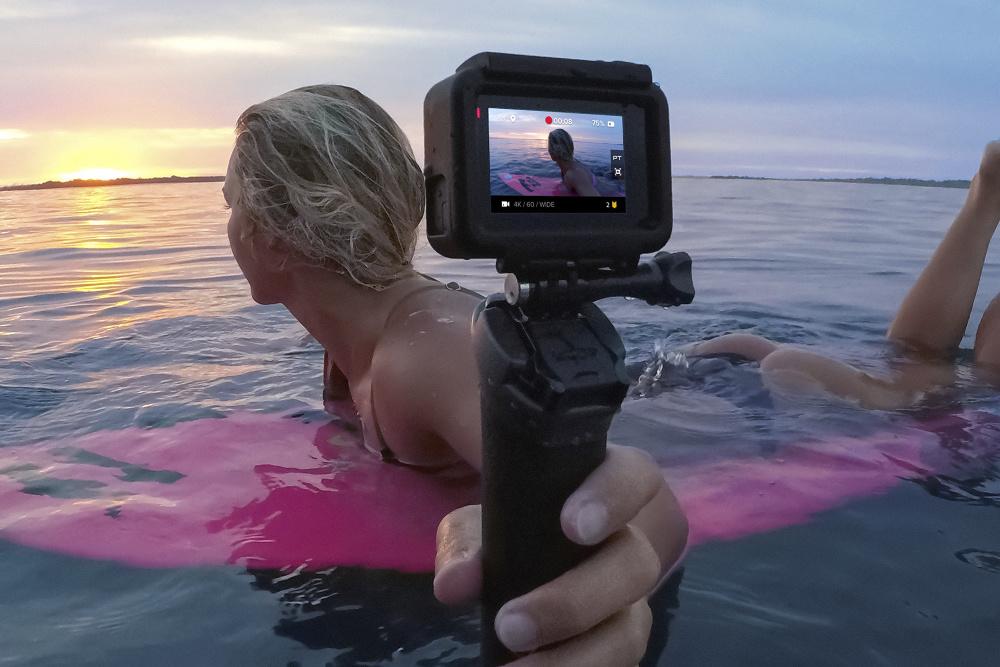 GoPro apresenta sua câmera top de linha Hero 6 Black