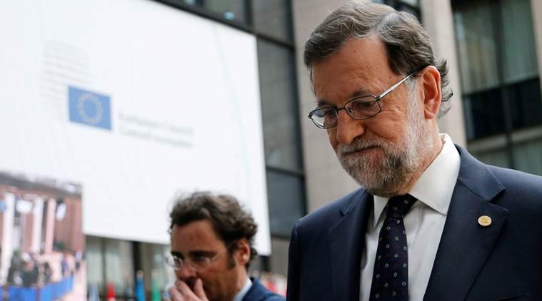 Mariano Rajoy, primeiro-ministro espanhol, lidera a oposição à independência catalã. Imagem: Reuters/François Lenoir
