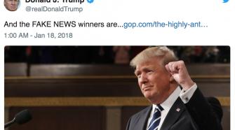 Donald Trump Notícias Falsas