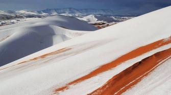 Deserto do Saara Argélia
