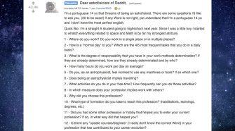 Reddit miúdo português astrofísico