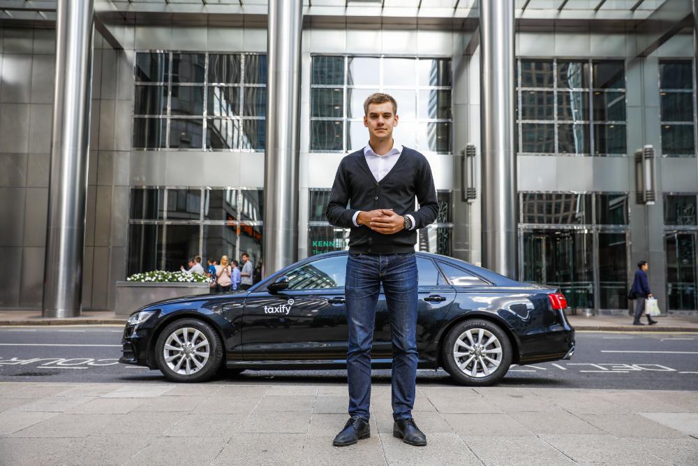 Markus Villig fundador e director executivo da Taxify