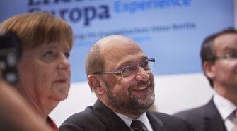 Angela Merkel Martin Schulz Alemanha