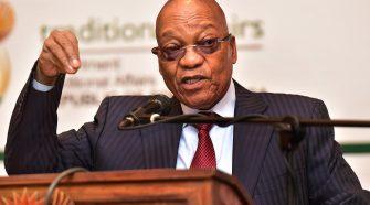 Jacob Zuma Presidente da África do Sul