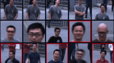 China óculos com reconhecimento facial