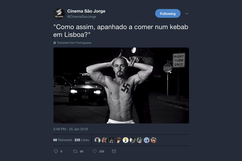 Cinema São Jorge Twitter