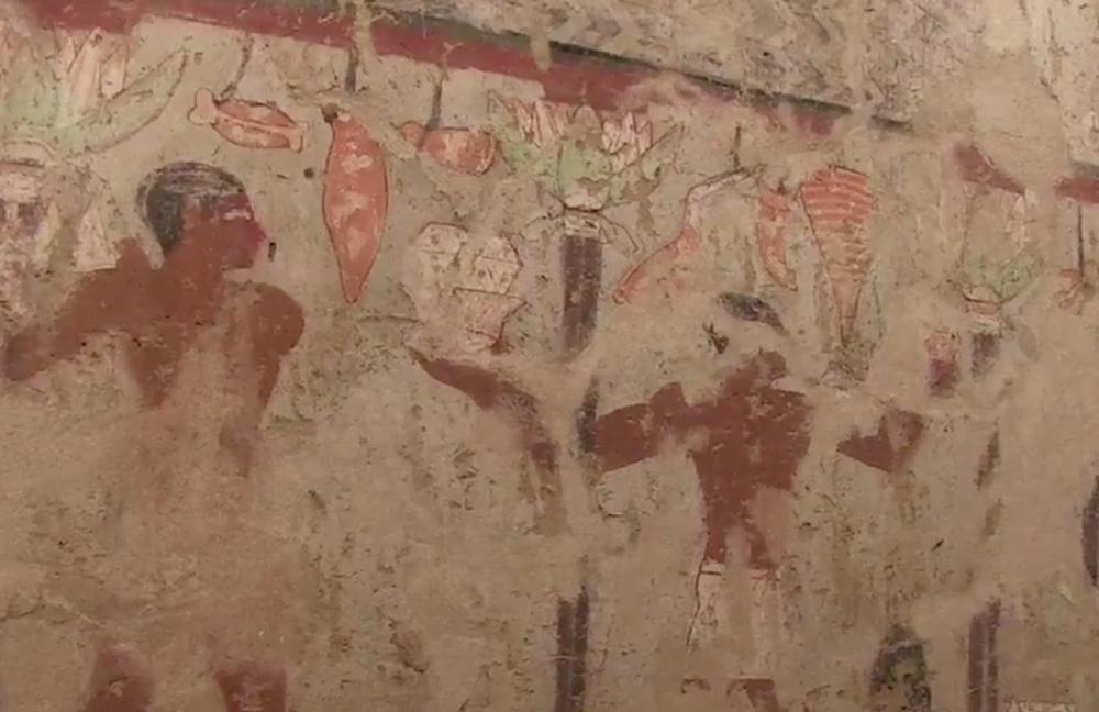 Descoberto túmulo com 4400 anos no Egito