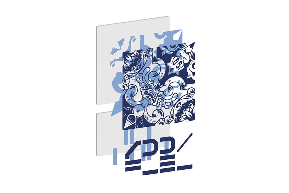 on sale 6b476 44e6f Um artista convidou um designer a criar a sua marca, o ...