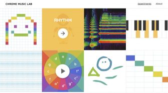 Google Chrome Music Lab