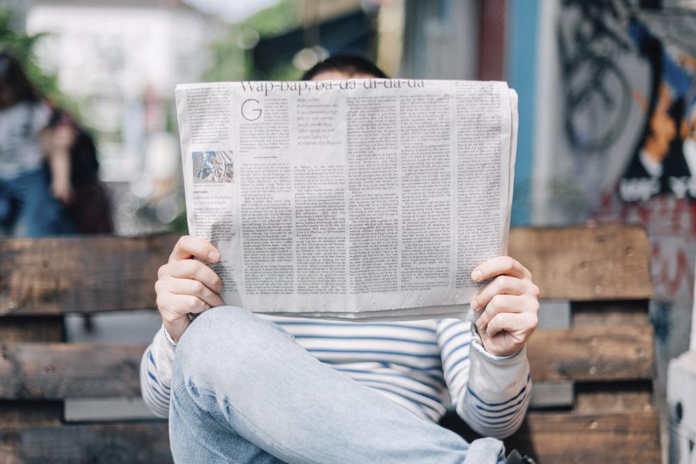 notícias falsas fake news online