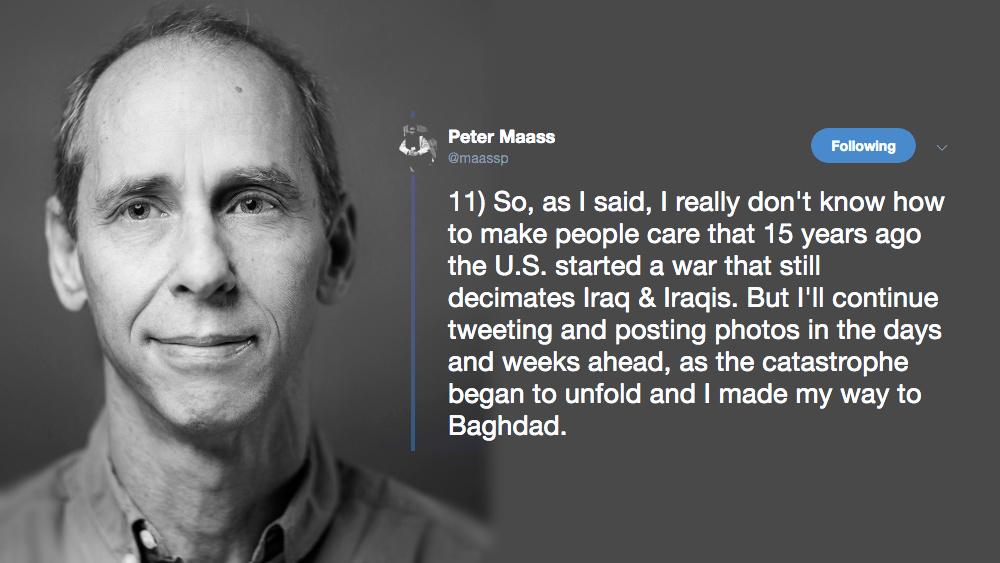Peter Maass Iraque
