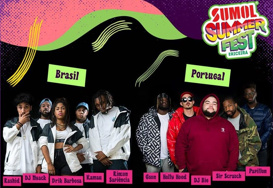sumol summer fest portugal vs brasil