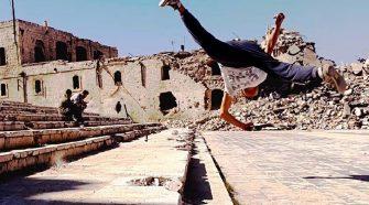 Síria Aleppo Parkour
