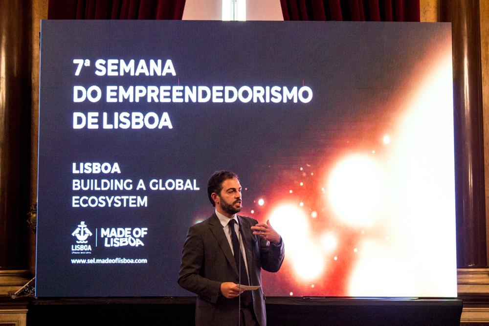 abertura Semana Empreendedorismo Lisboa