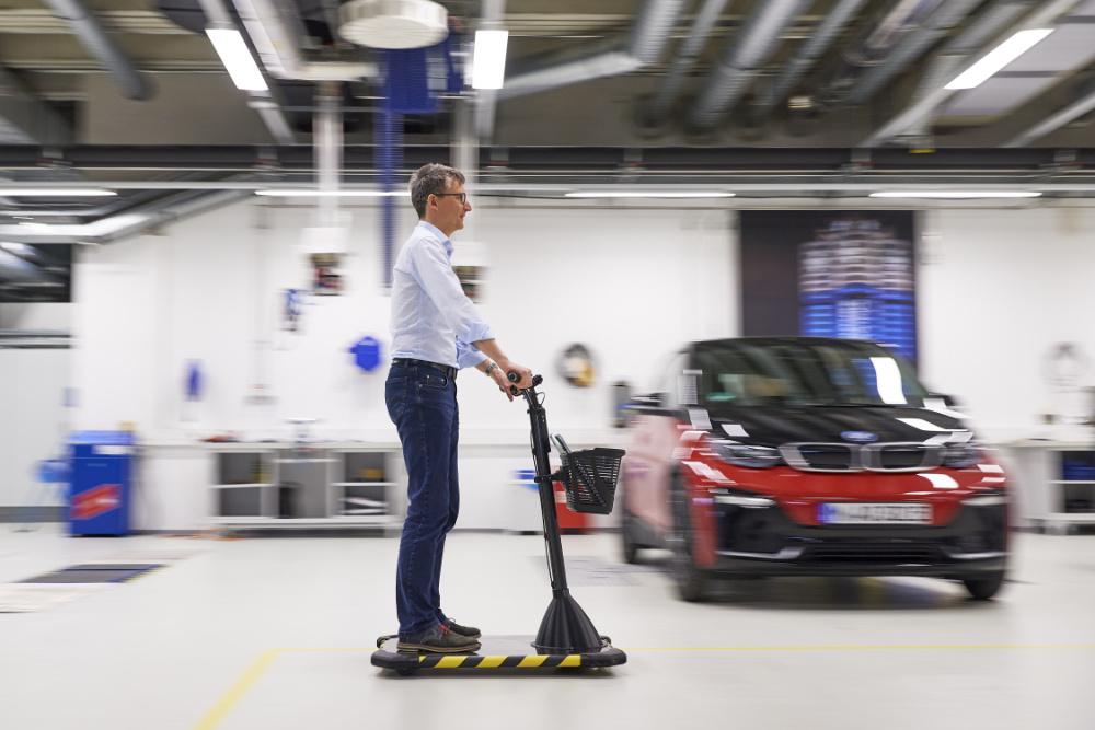 BMW segway