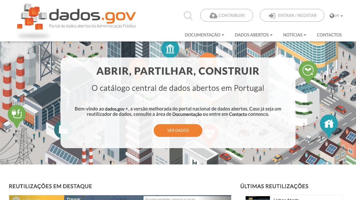 Governo dados abertos Dados.gov