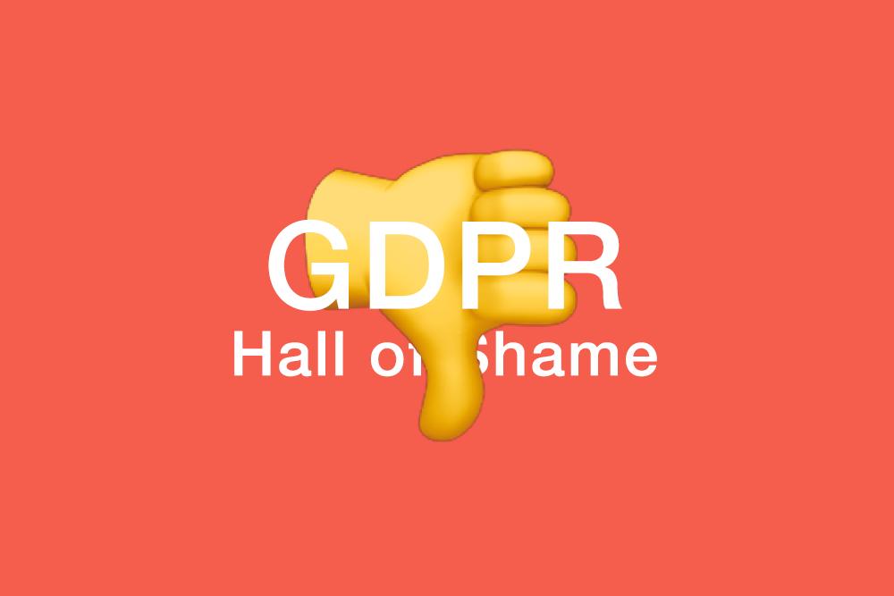 Os piores exemplos de aviso para o Regulamento Geral de Protecção de Dados