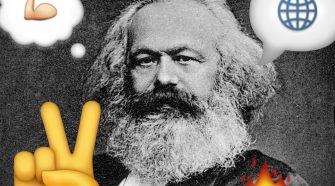 Karl Marx e Emojis