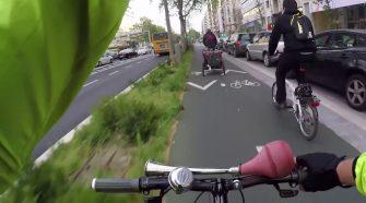 Ciclista em Lisboa