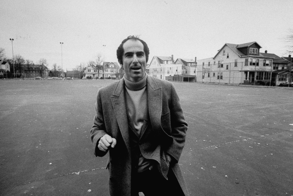 Philip Roth fotografado para a revista LIFE em 1968