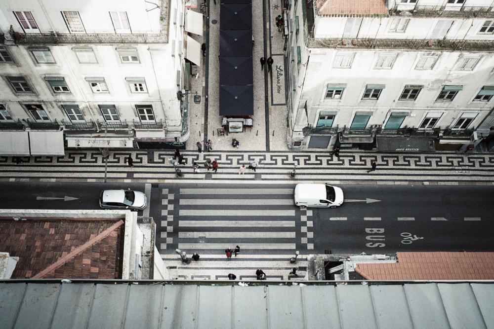 Lisboa carros poluição