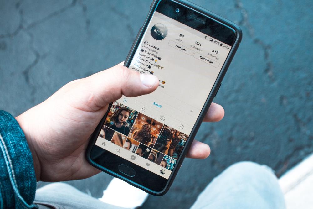 Instagram feed algoritmo