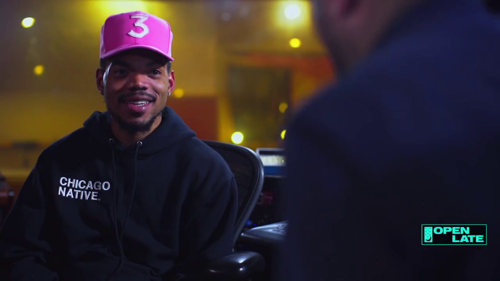Chance The Rapper Kanye West