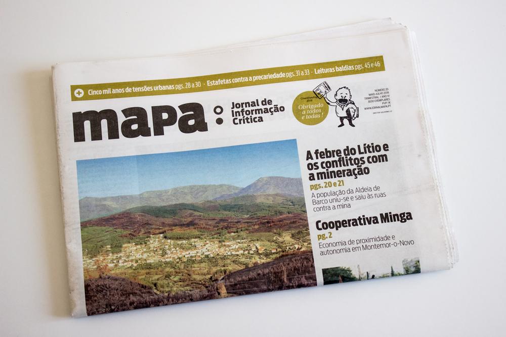 jornal mapa