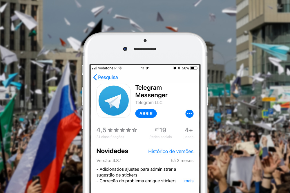 Telegram Rússia