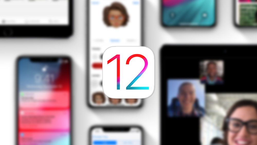 iOS 12 iphone