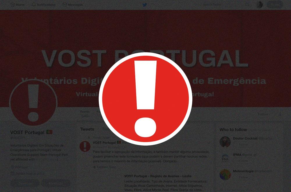 @VOSTpt: o grupo de voluntários a fazer aquilo que a Protecção Civil não faz online