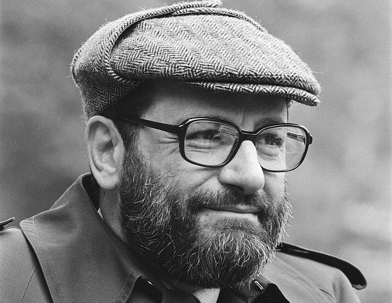 Umberto Eco. Foto dos Arquivos Nacionais Holandeses