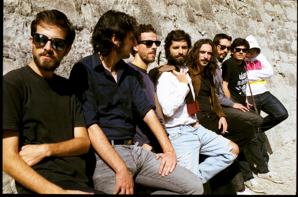 Os músicos FlorCaveira (foto de Vera Marmelo/DR)