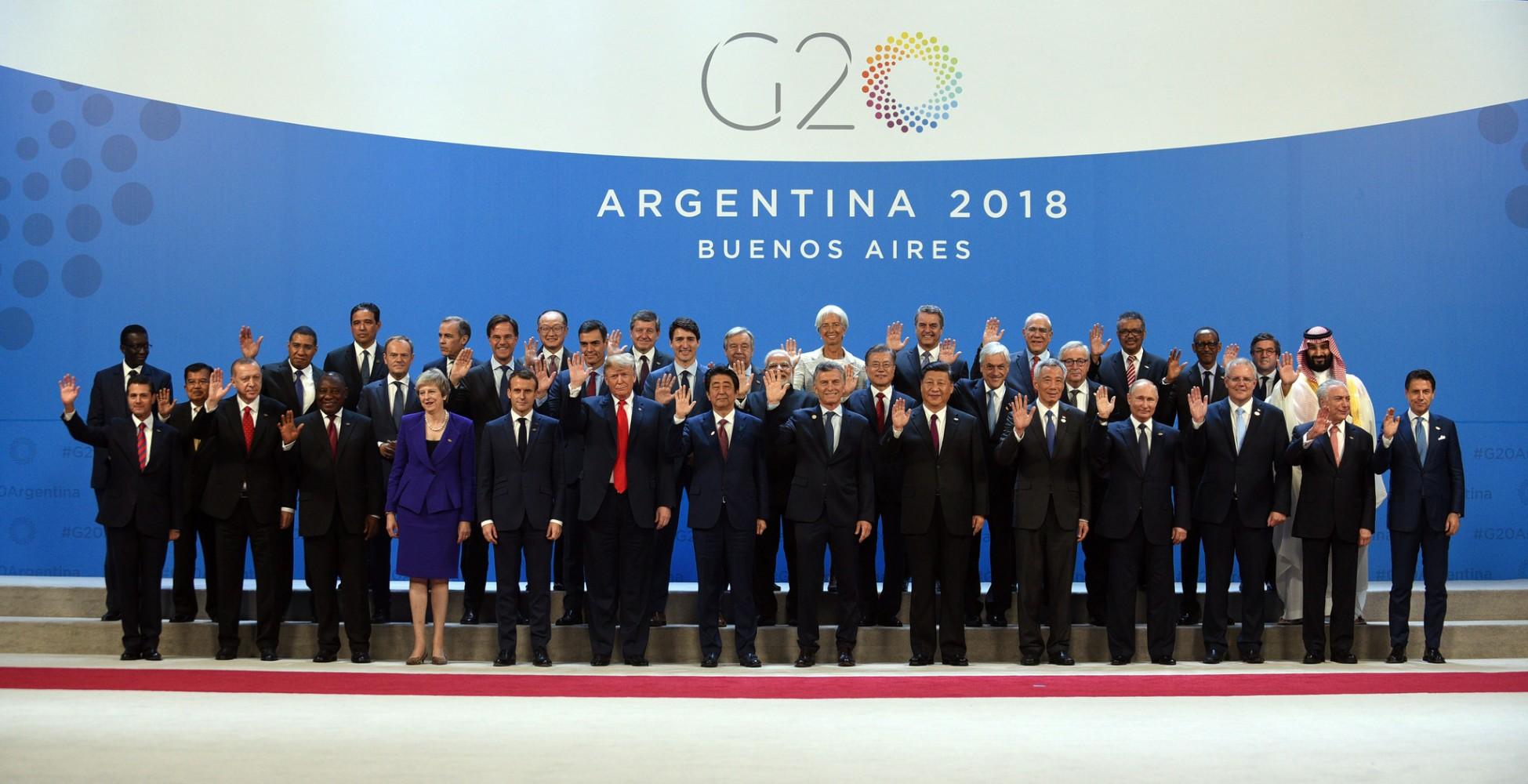 G20 Foto de família