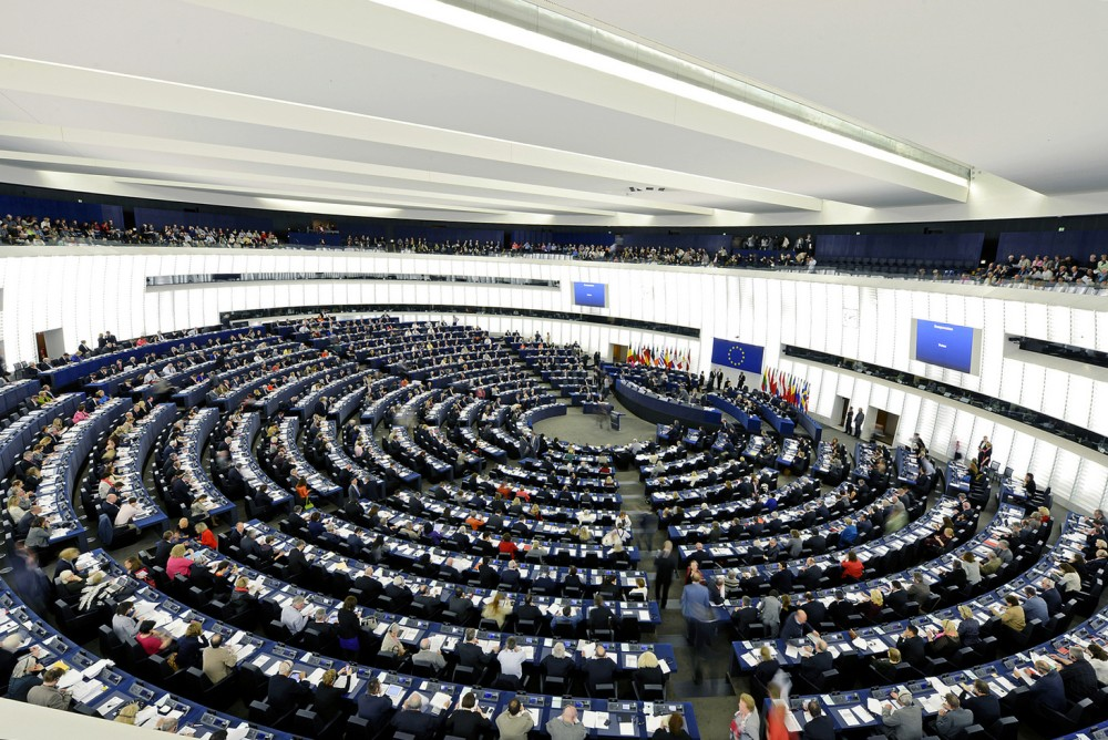 Plenario Europeu Estrasburgo