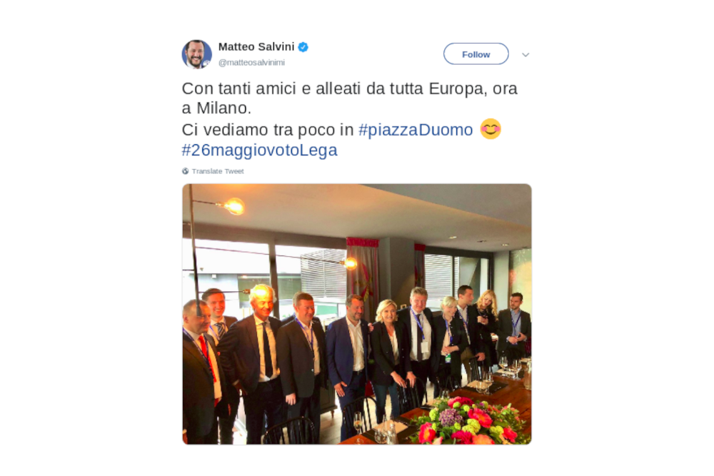 amicci salvini europa