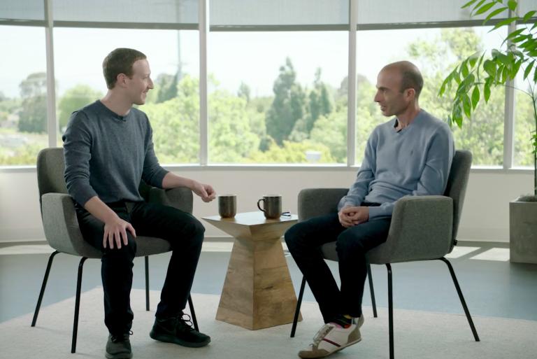 harari zuckerberg conversa
