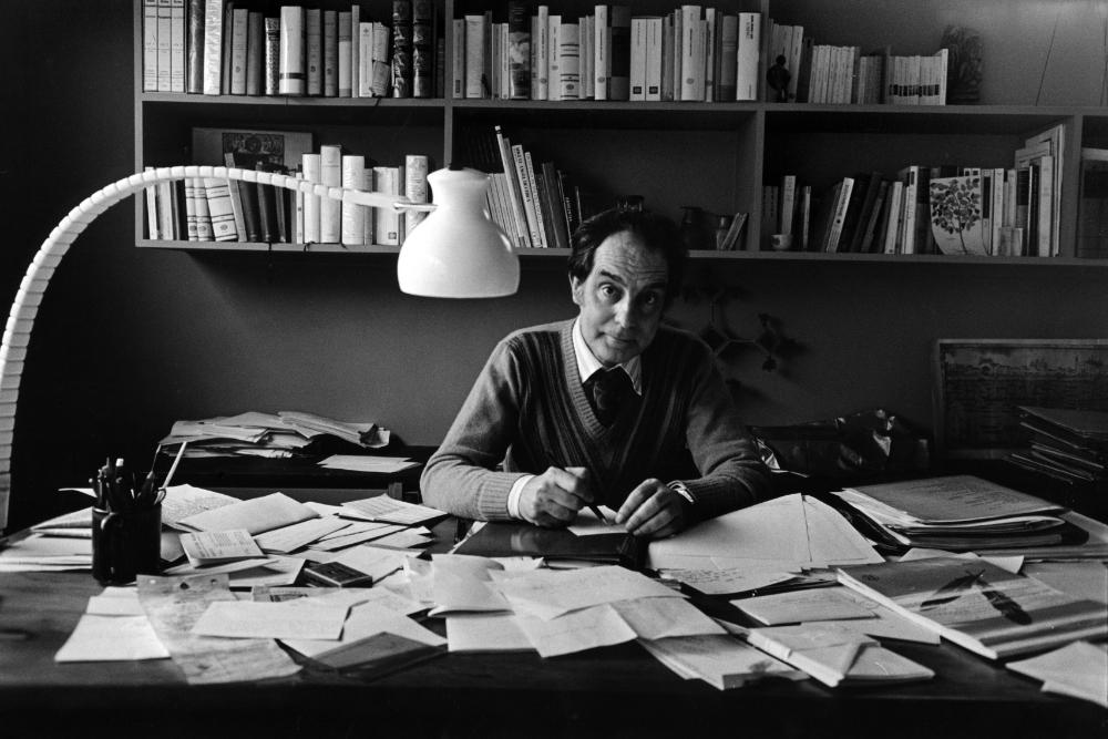 Italo Calvino (foto via Standford University)