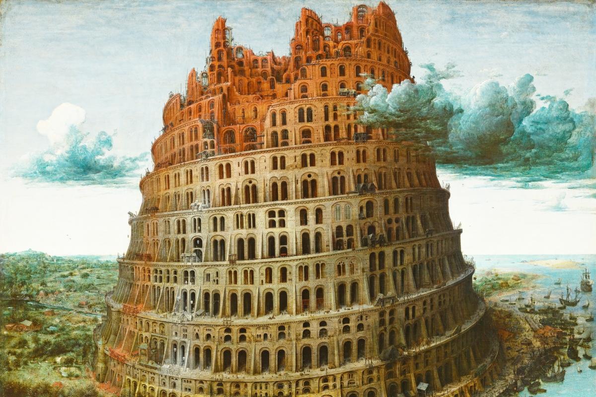 A Torre de Babel de Peter Bruegel