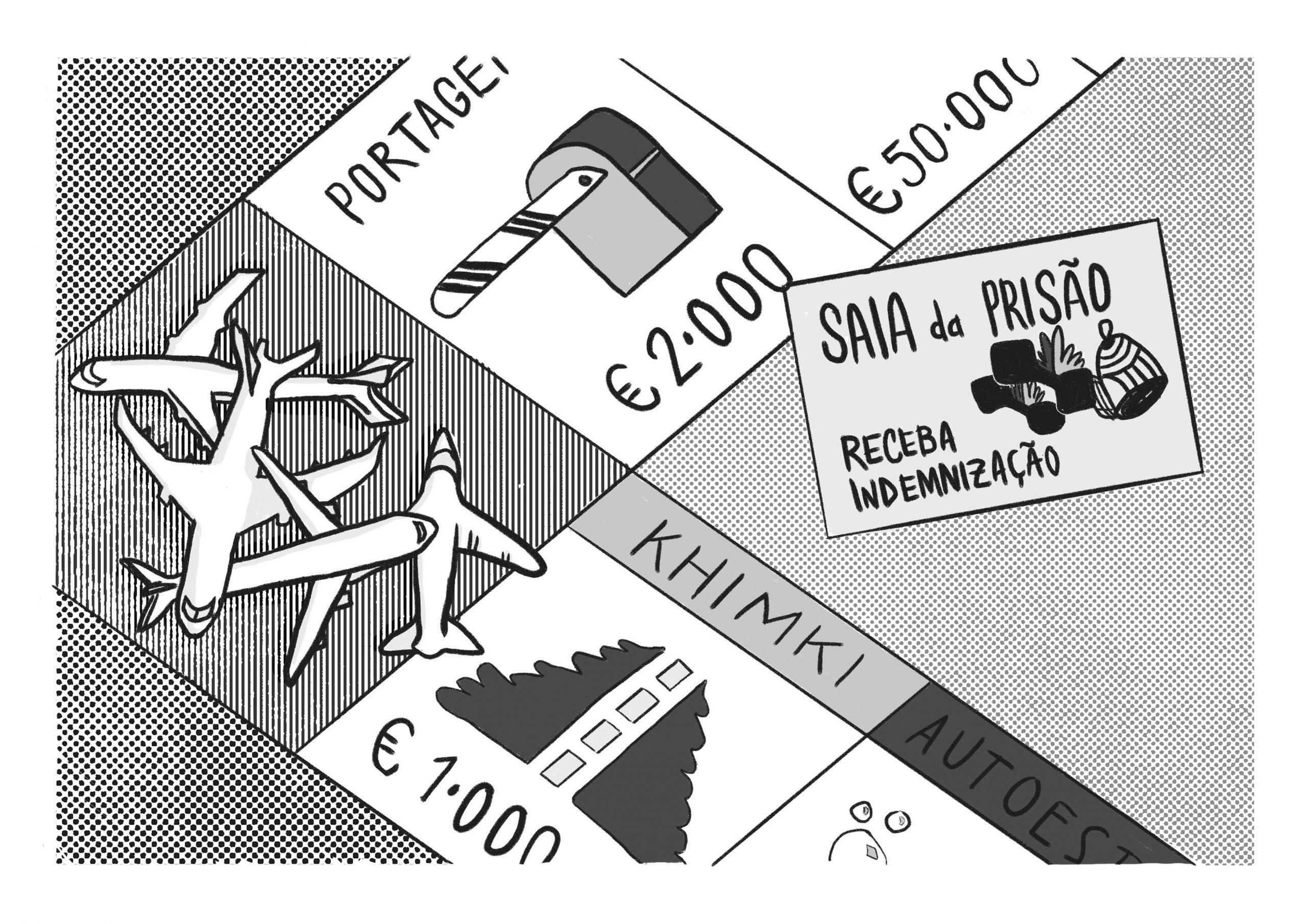 Ilustração de Rita Neves/Mapa