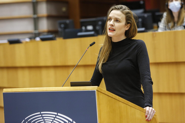 Terry Reintke no Parlamento Europeu